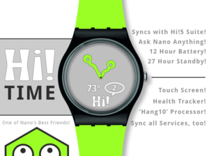 Hi! tech Smartwatch
