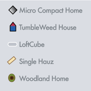 Tiny house list