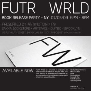 FutrWrld Party Flyer