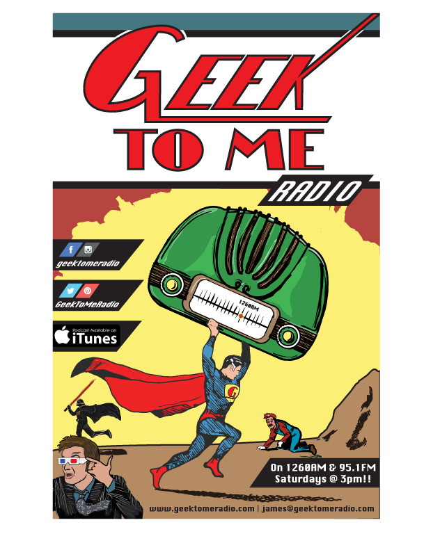 Geek to Me Radio poster