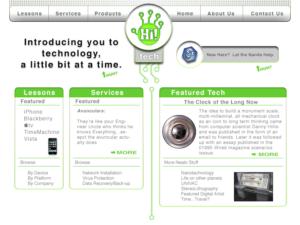 Old Hi! tech site