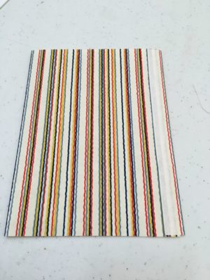 glued book cover