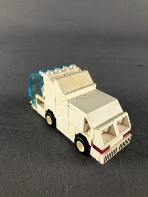 Rear top down view of van