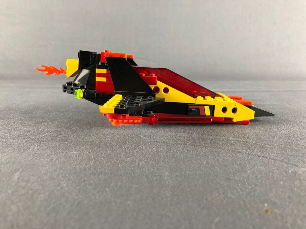 Flame ship profile