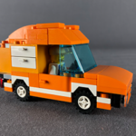 Orange supply truck feature image