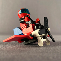 tiny lego plane feature image